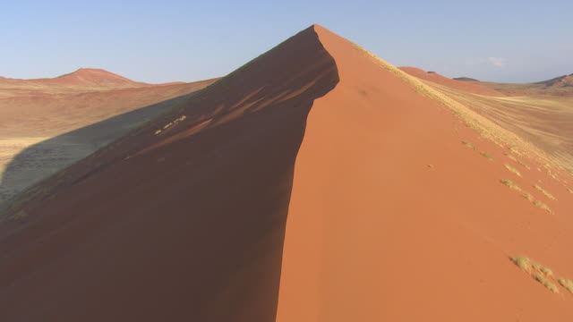 aerial over the landscape of namibia - aerial or drone pov or scenics or nature or cityscape stock videos & royalty-free footage