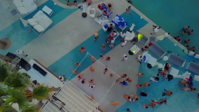 Aerial Pan Forward: Clubbing by the Bay in Mexico