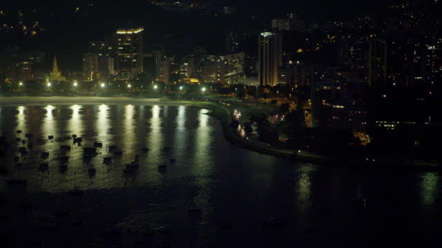 aerial pan of rio de janeiro's landmark cristo redentor. - 2013 stock videos & royalty-free footage