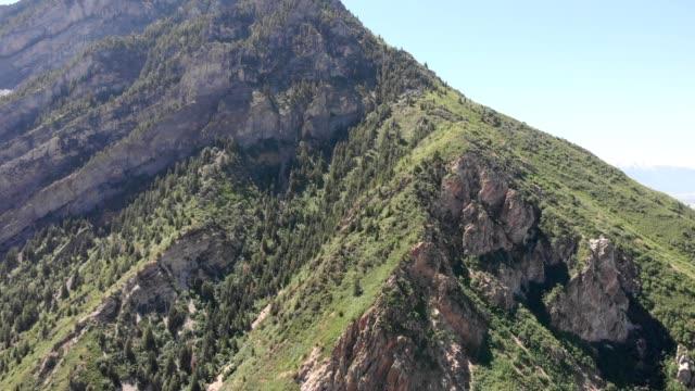 stockvideo's en b-roll-footage met aerial panorama of provo utah - provo