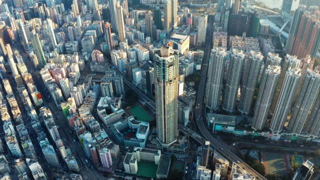 flygperspektiv i hongkong, kina - hongkong bildbanksvideor och videomaterial från bakom kulisserna
