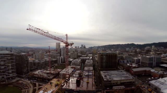 aerial portland nw - portland oregon bildbanksvideor och videomaterial från bakom kulisserna