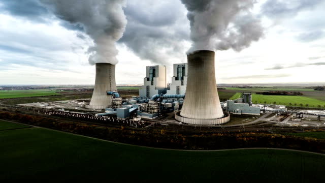 Luftaufnahme: Power Plant