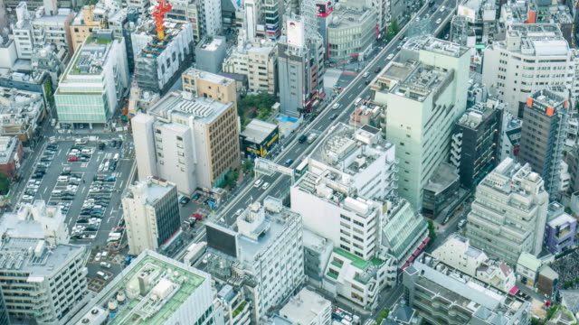 東京の空中リアルタイム ビデオ