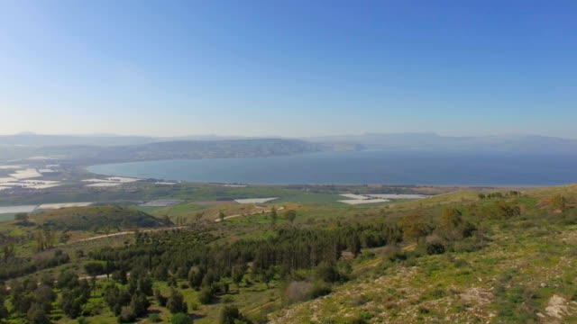 Aerial Revealing /Sea of Galilee, Lower Galilee