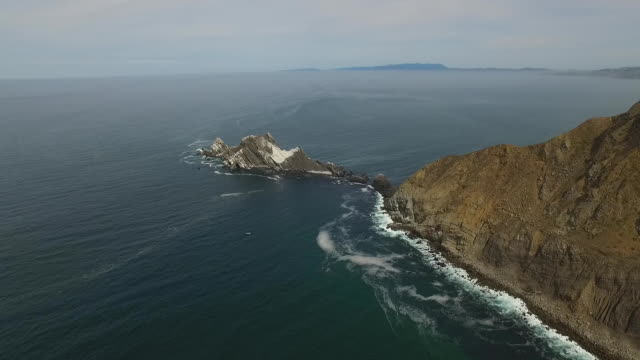 Aerial Reverse Rise Up: San Pedro Rock