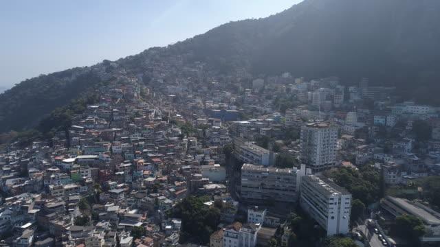 aerial - rio de janeiro - favela stock videos and b-roll footage
