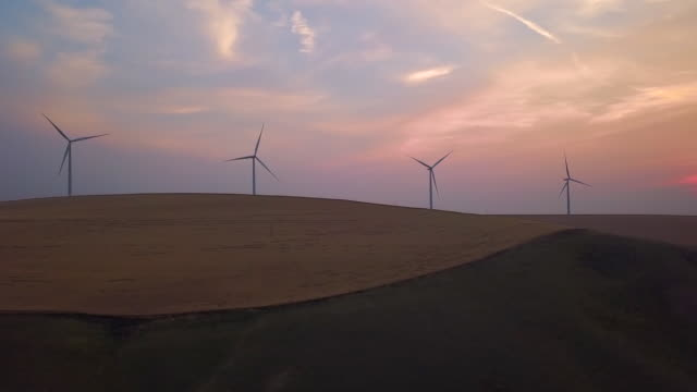 Aerial Rising: Viewing the Massive Windmills