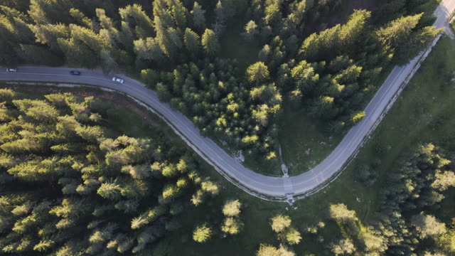 aerial road trip. busy life, top view, non-urban landscape. - transportation event stock videos & royalty-free footage
