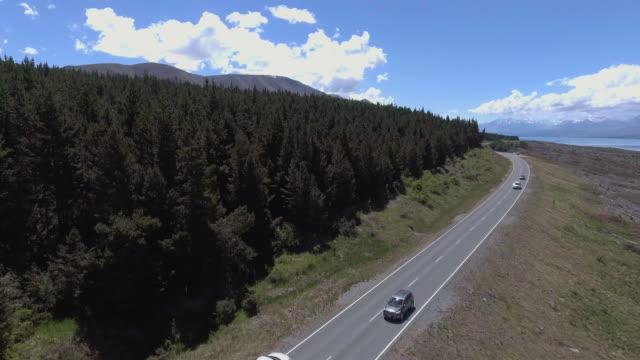 Aerial road