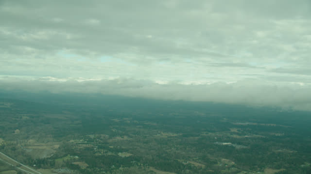 aerial rural countryside (glider 3/4 front right window pov) - air vehicle点の映像素材/bロール