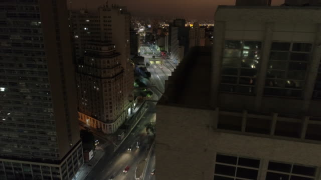 vídeos de stock, filmes e b-roll de aerial -  sao paulo downtown - centro da cidade