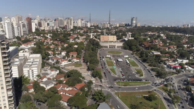 aerial - sao paulo - empty road stock videos and b-roll footage