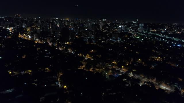 aerial - sao paulo - horizon over land stock videos & royalty-free footage