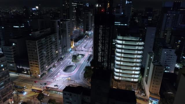 stockvideo's en b-roll-footage met aerial - sao paulo - brede straat