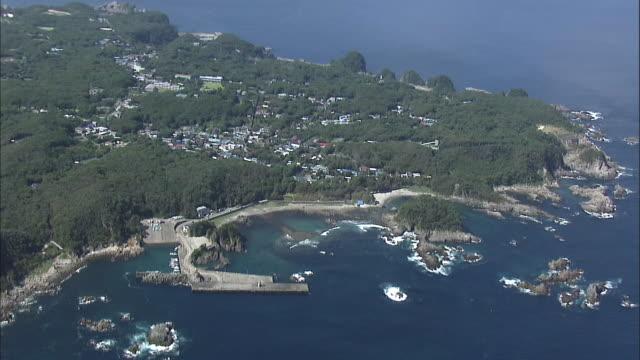 Aerial Shikinejima Island