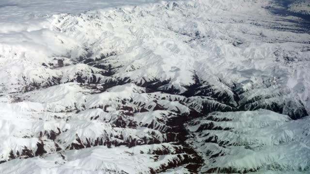Aerial Shot Arctic Landscape