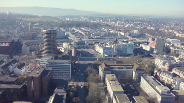 Aerial Shot Basel City