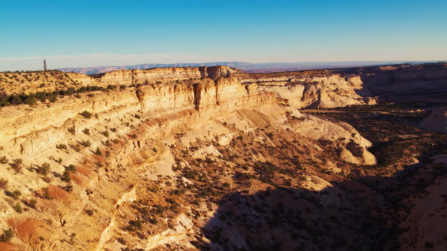 aerial shot canyons in utah - san rafael swell stock videos and b-roll footage