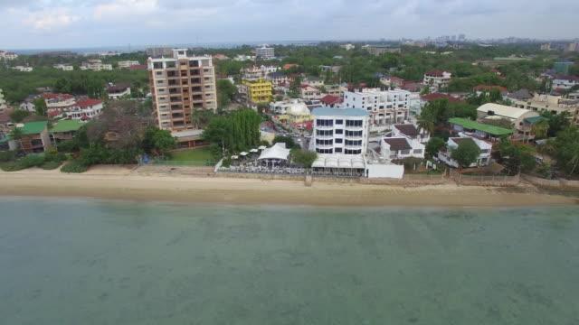 Aerial Shot: Dar Es Salam Fishmarket