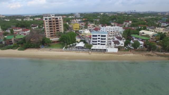 vídeos y material grabado en eventos de stock de tiro aéreo: mercado de pescado salam - tanzania