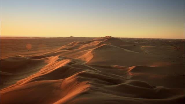aerial shot namibian desert - camel stock videos & royalty-free footage