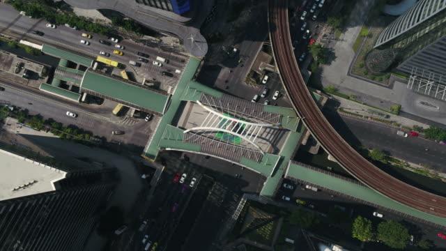 タイ・バンコク市の空撮 - クワッドコプター点の映像素材/bロール