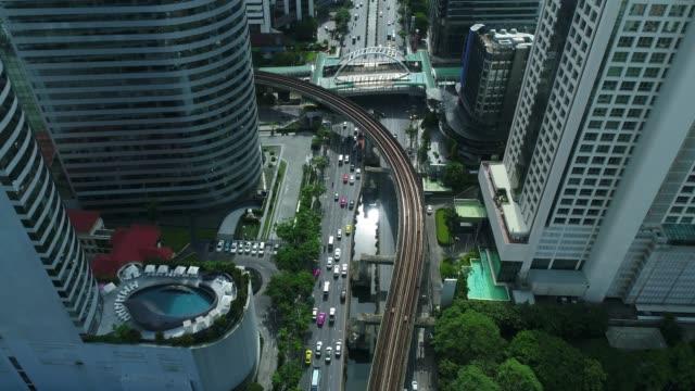 Aerial shot of Bangkok City