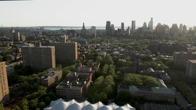 aerial shot of brooklyn, new york city - brooklyn new york stock videos & royalty-free footage