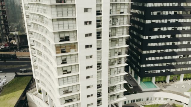 vídeos de stock, filmes e b-roll de foto aérea de edifícios na cidade do méxico - as américas