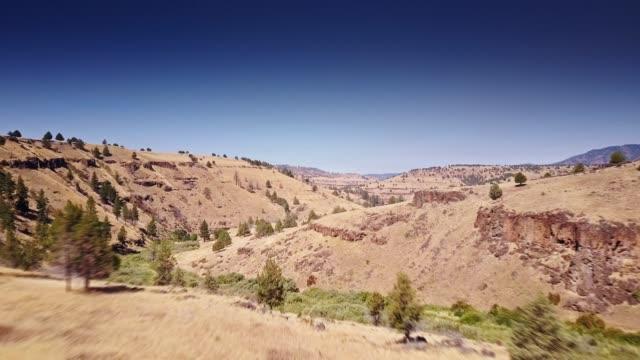 Aerial Shot of Eastern Oregon Landscape