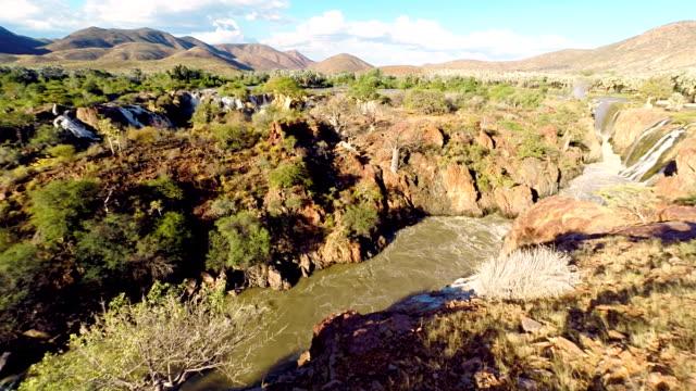 HELI Aerial Shot Of Epupa Falls