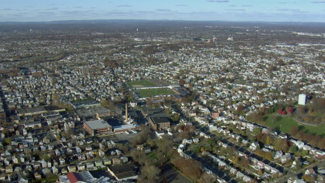 Aerial Shot Of Garfield New Jersey
