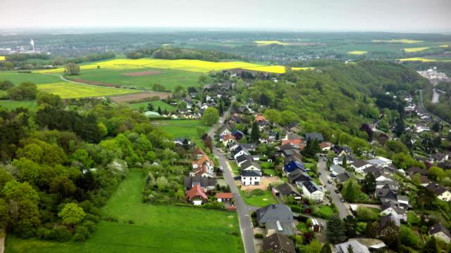 Aerial shot of German Village