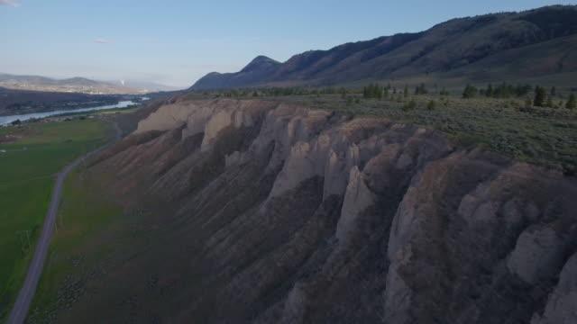 Aerial shot of Hoodoos