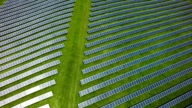 Luftaufnahme von Solar Power Station