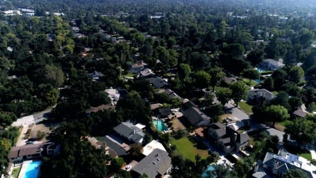 南カリフォルニア地域の空中ショット