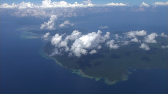 Aerial shot of Sulawesi Tenggara, Indonesia