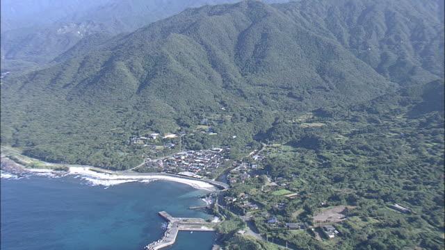 aerial shot of yakushima island,kagoshima,japan - 1993 stock videos and b-roll footage
