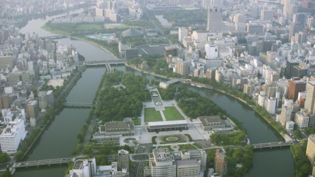 Aerial shot over Japan