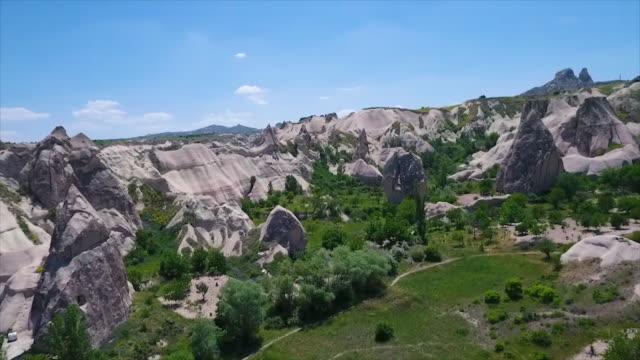 vídeos de stock e filmes b-roll de aerial shot over landscape and mountain and window - exposto ao ar