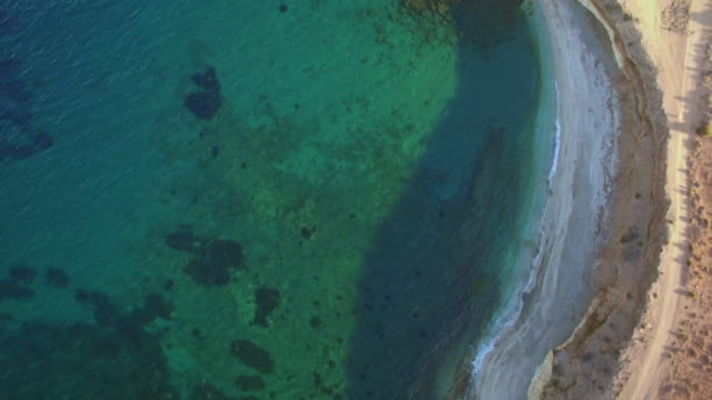 Aerial shots of the coastline of southern Spain
