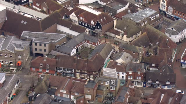 GBR: Aerials of Kent towns as new coronavirus tiers take effect