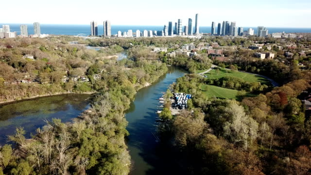 aerial smithfield scenes on gta of ontario, canada - ontario canada stock videos & royalty-free footage