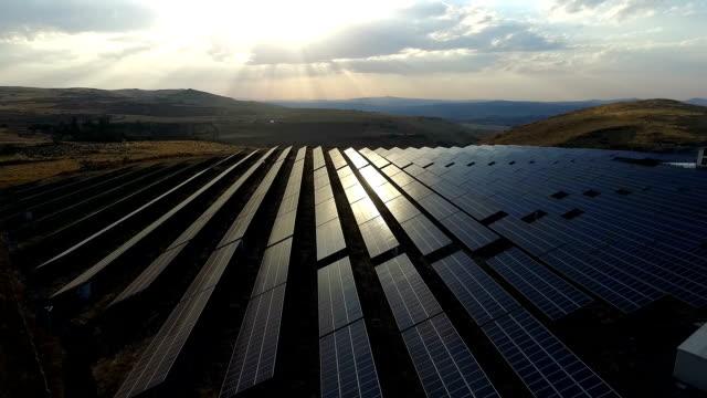 Aerial Solarkraftwerk