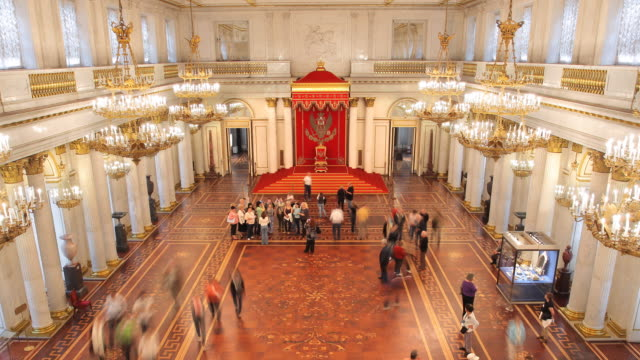 aerial st. george hall 1 zoom - russian culture stock videos & royalty-free footage