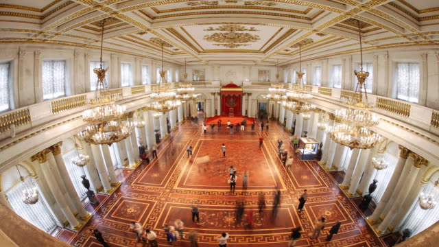 Aerial St. George Hall fisheye 1