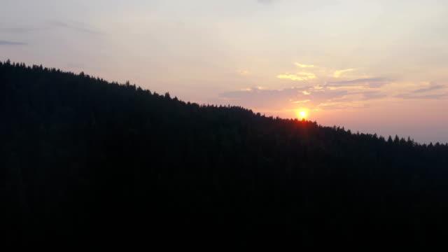 aerial sunrise - rural scene stock videos & royalty-free footage