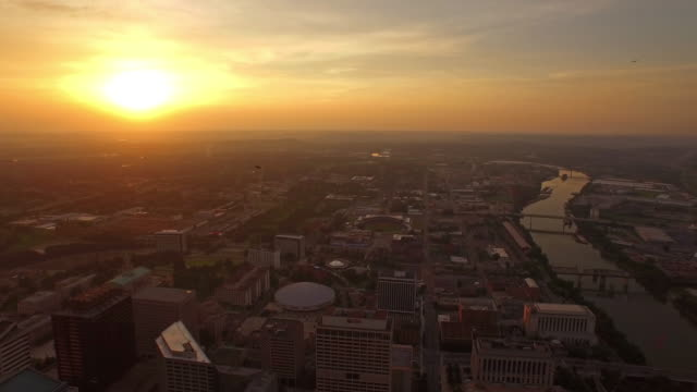 aerial tennessee nashville - nashville stock videos and b-roll footage