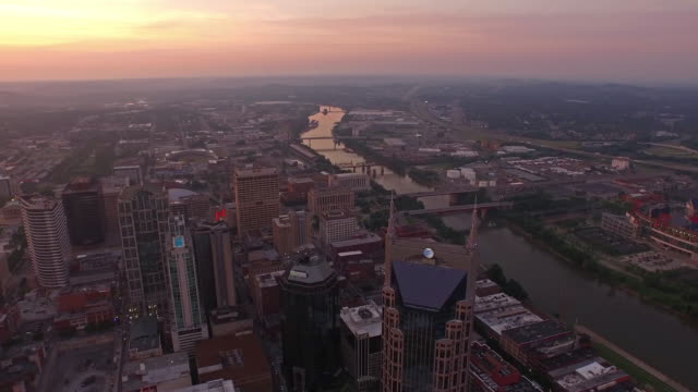 aerial tennessee nashville - nashville stock videos & royalty-free footage